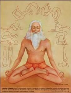 """Patanjali Tra il 400 e il 200 a.C. un Maestro chiamato Patanjali scrive gli """"Yogasutra"""", il libro che codifica la meravigliosa arte dello Yoga. Yoga in sanscrito significa 'unire'"""