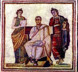 Virgilio tra le Muse